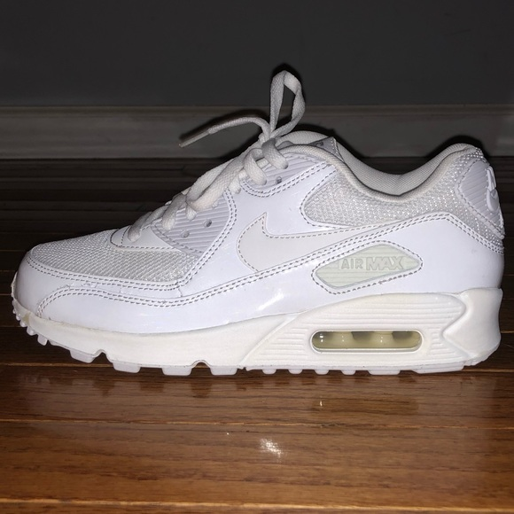 cheap for discount b2020 f6ed3 Nike Shoes   Womens Air Max 90 Premium White 65   Poshmark nike air max 90